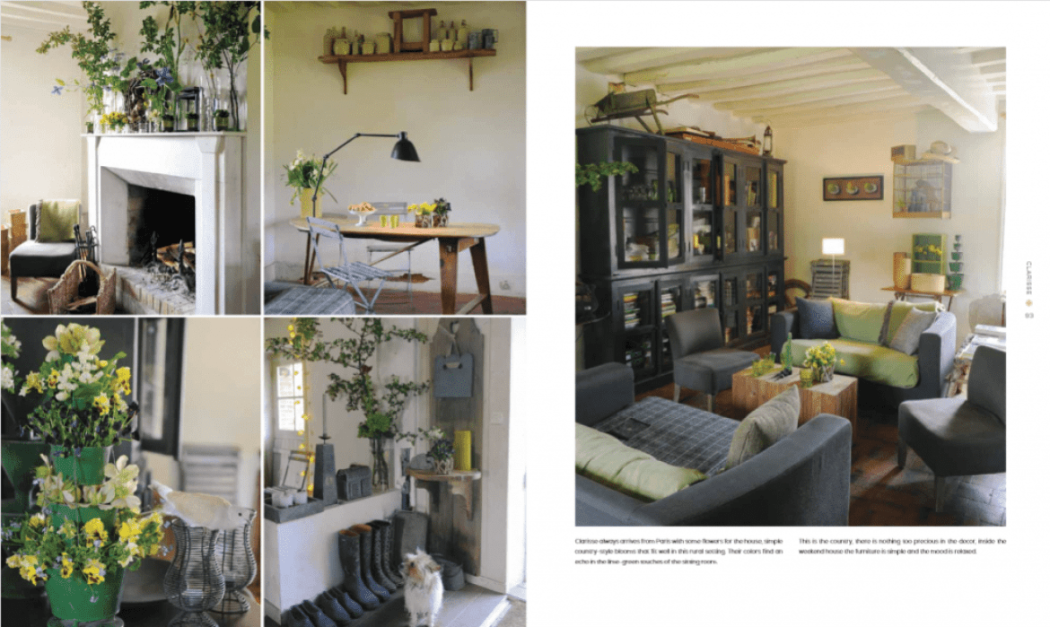 page spread from new book My Stylish French Girlfriends