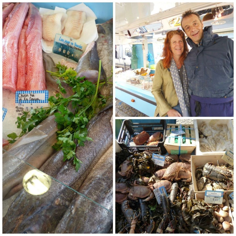 buying fresh fish at teh market