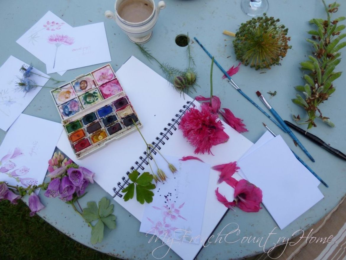 making seed packets