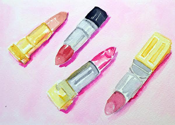 watercolour lipsticks