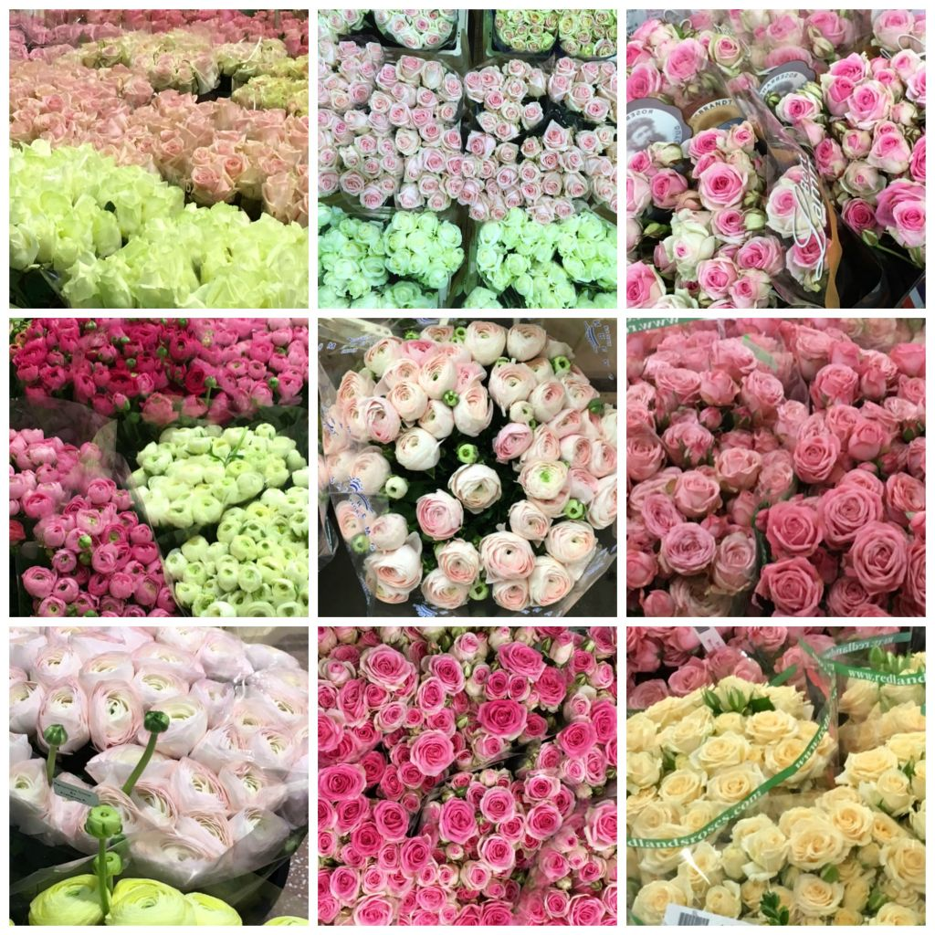flowers for sale at wholesale market