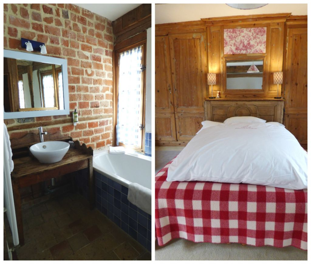 bedrom and bathroom