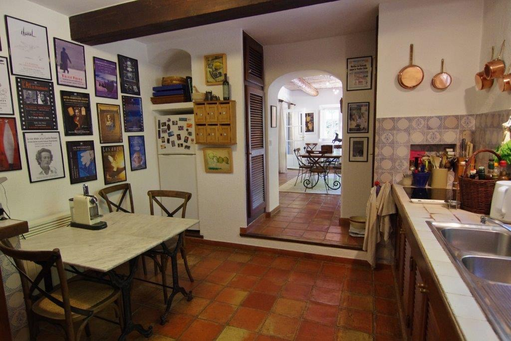 kitchen in french house