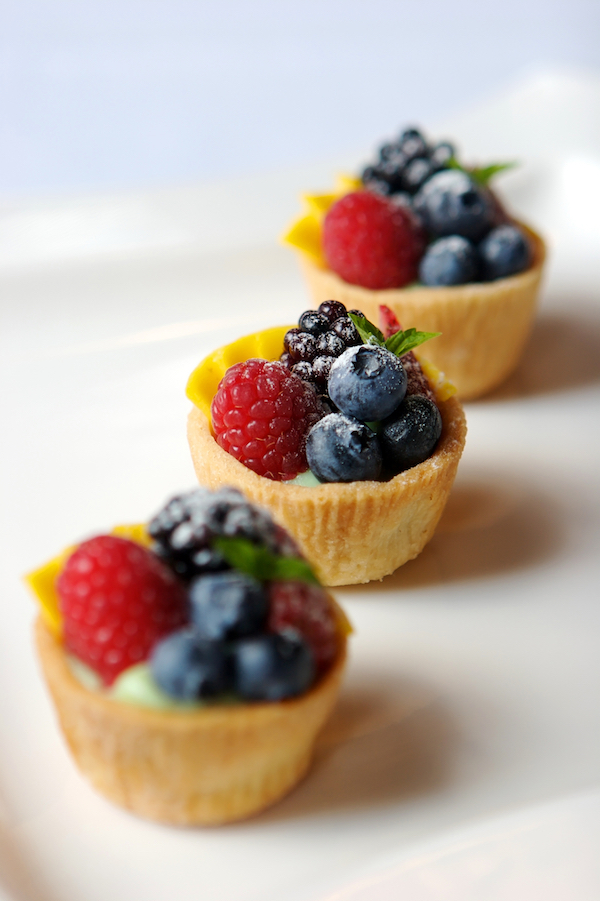 mini fruit tartlets