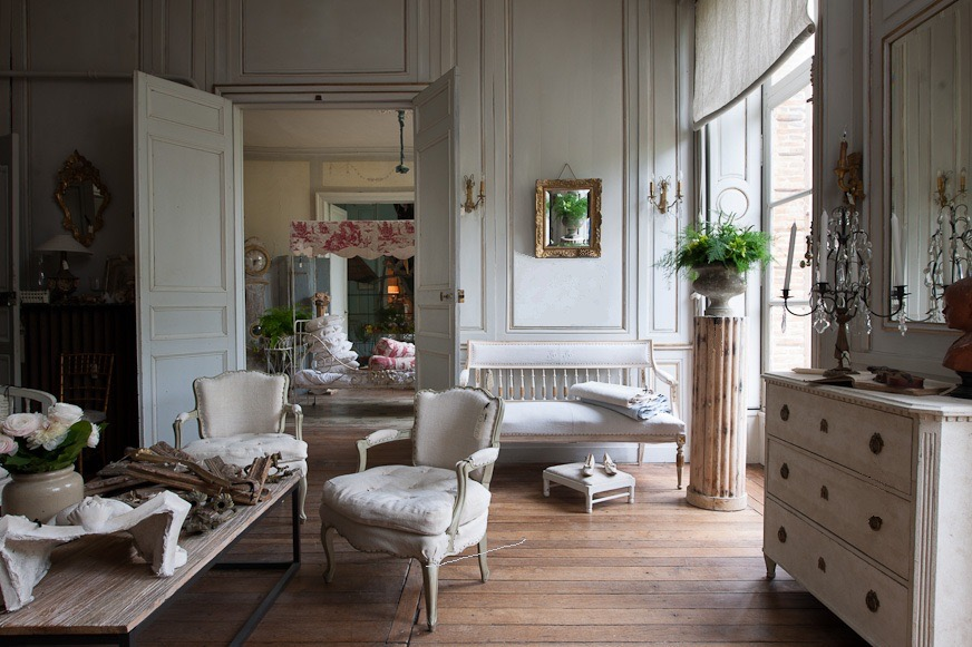 interior house for sale shown on My French Country Home