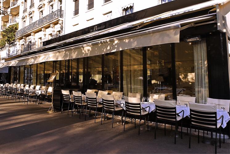 restaurant le berkeley in paris