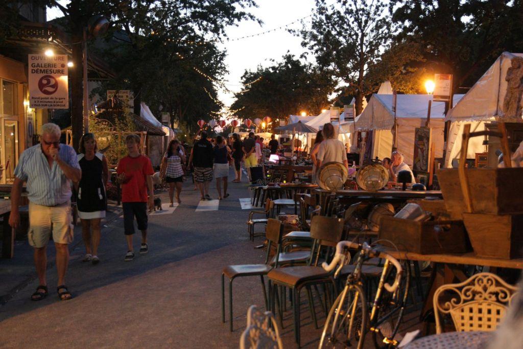 isle sur la sorgue antique fair