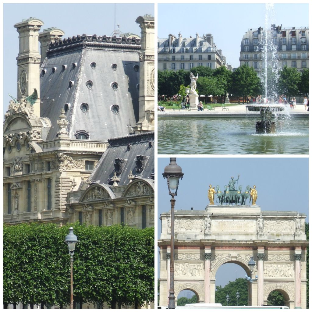shots from the tuilerie gardens paris