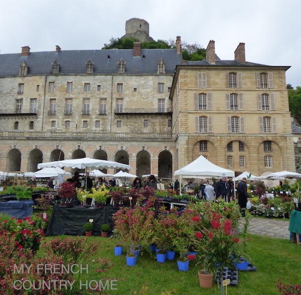 plant fair chateau roche guyon