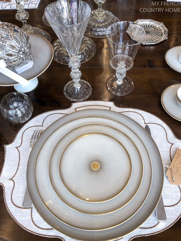 Plate sets Maison du Bac- MY FRENCH COUNTRY HOME