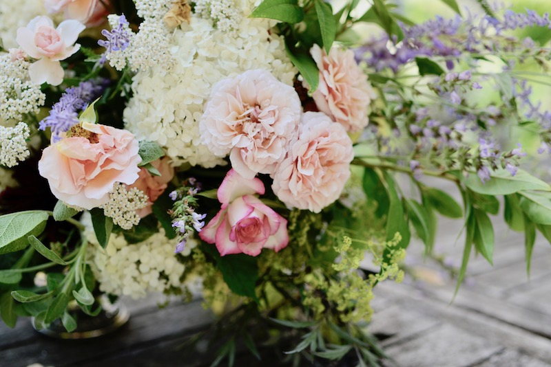 our giveaway winner and july flowers from the garden- MY FRENCH COUNTRY HOME