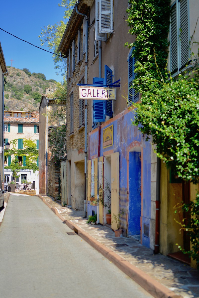 street in southern france