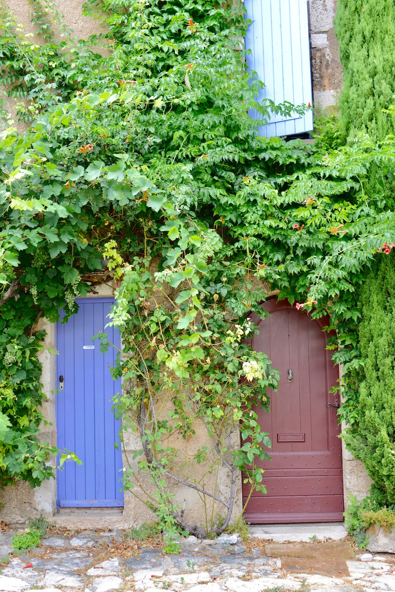 my-french-country-home-summer-markets old doors in village