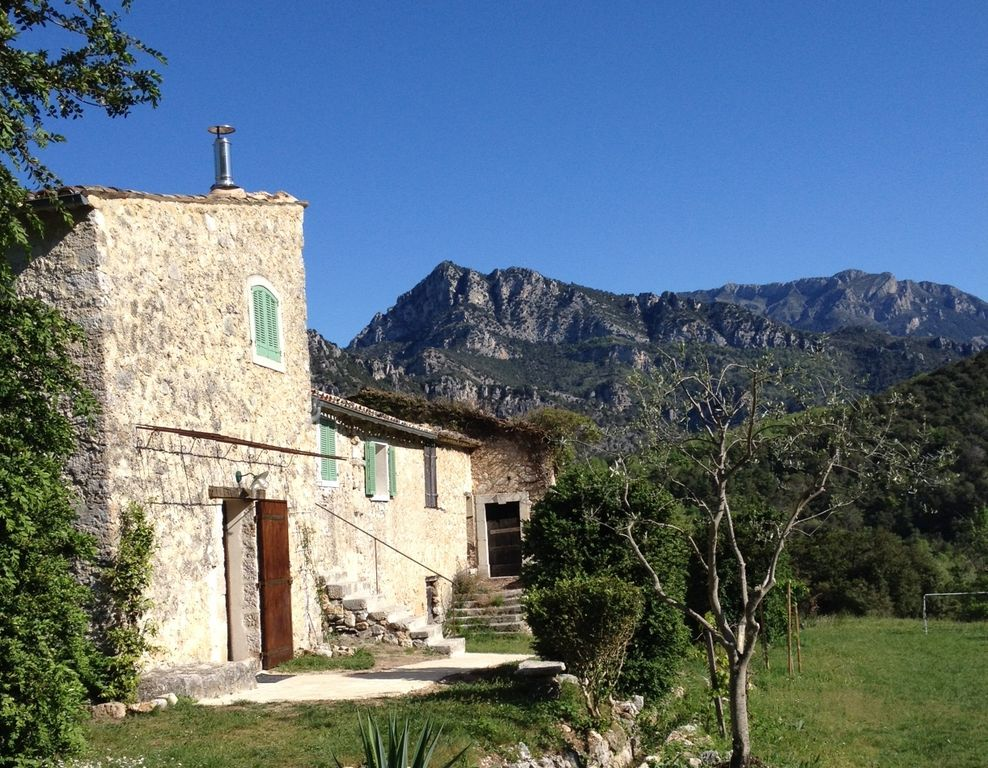 stone house in south of france