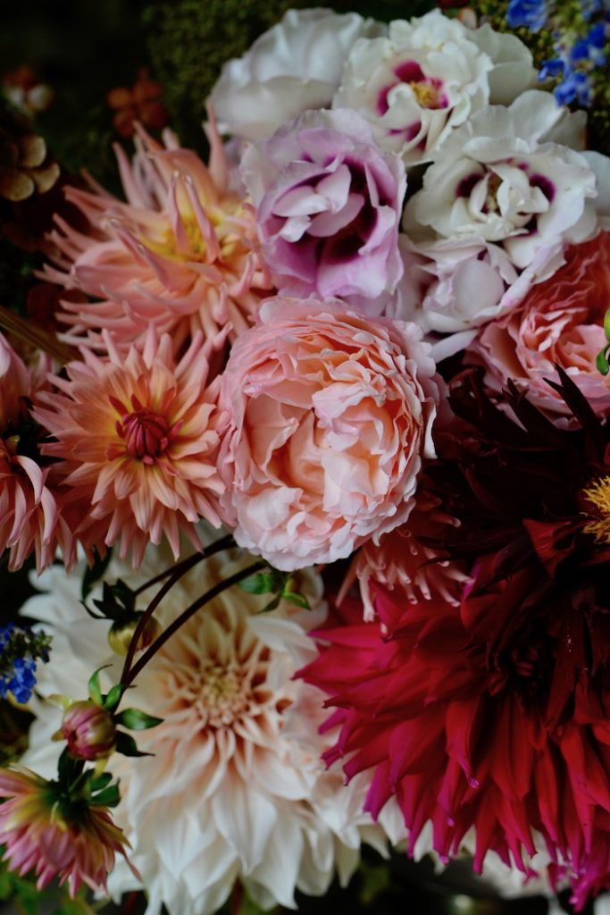 indian summer flowers- MY FRENCH COUNTRY HOME