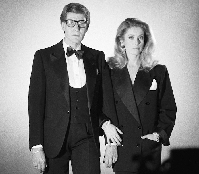 catherine deneuve and yves saint laurent- MY FRENCH COUNTRY HOME