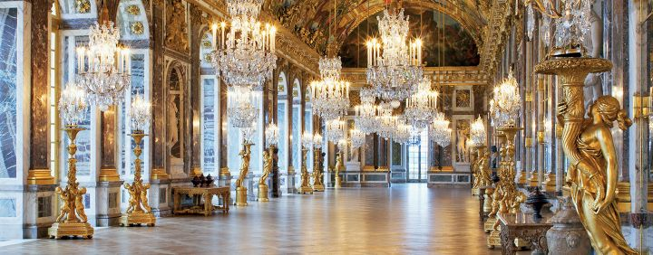 Hall of Mirrors at the Versailles Palace