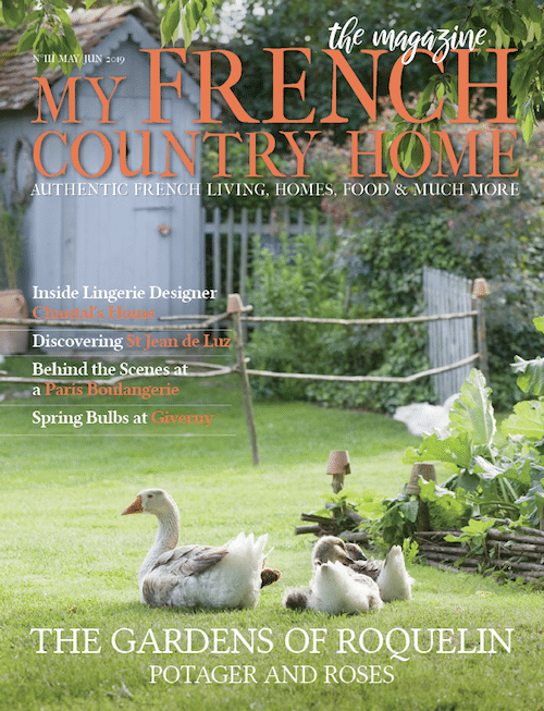 Cover of May edition of My French Country Home Magazine