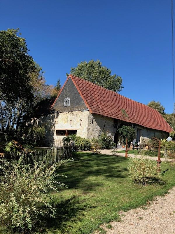 An 18th century Normandy farmhouse