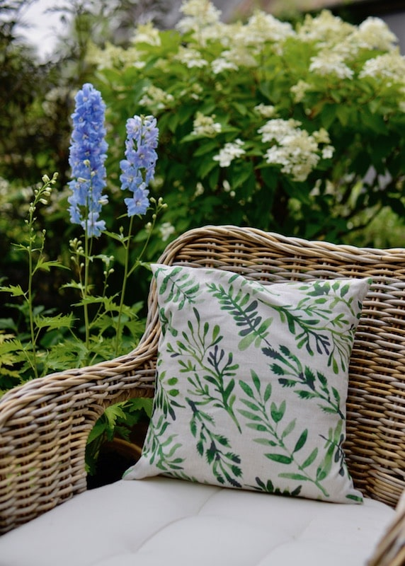 Cushion covers by Charvet Editions for My Stylish French Box August 2019- Summer Living in Provence- MY FRENCH COUNTRY HOME