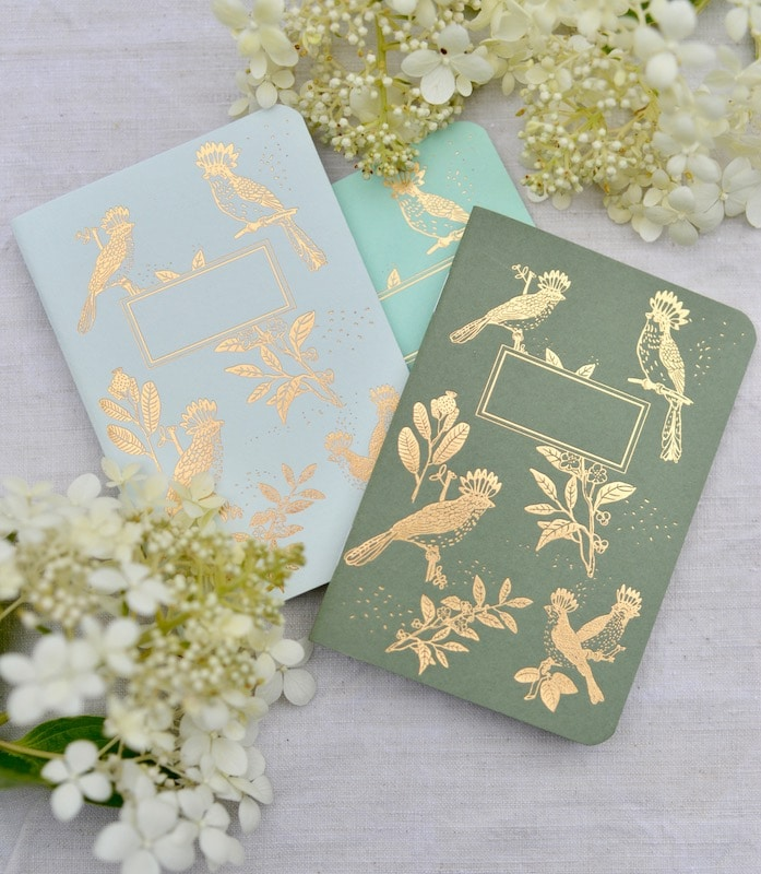 Notebooks by Les Éditions de Paon for My Stylish French Box August 2019- Summer Living in Provence- MY FRENCH COUNTRY HOME