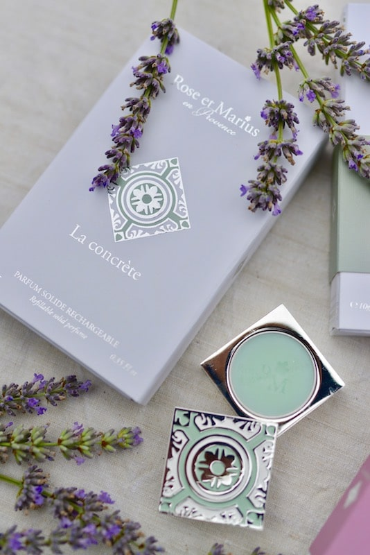 Solid perfume by Rose et Marius for My Stylish French Box August 2019- Summer Living in Provence- MY FRENCH COUNTRY HOME