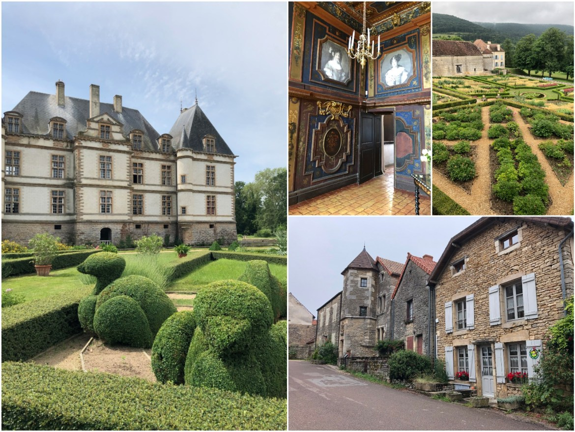 Chateau visits on our tour in Burgundy