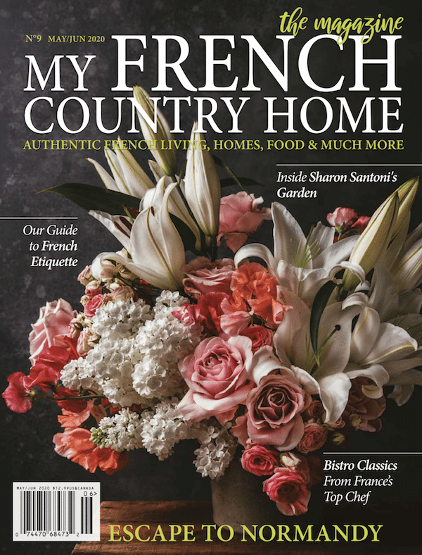 front cover of may/june magazine of my french country home