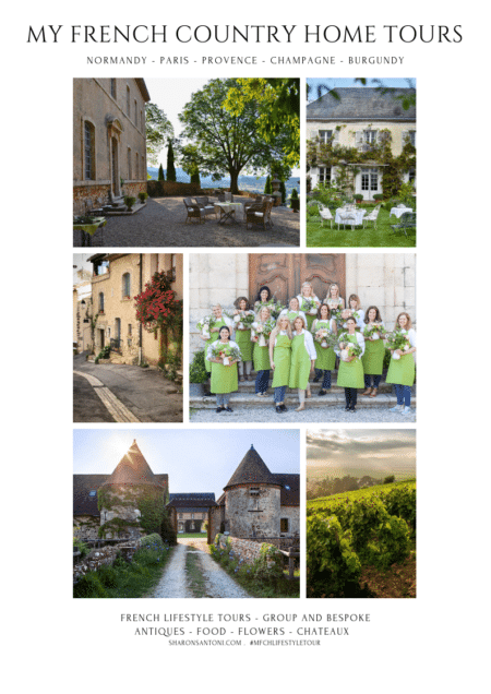 brochure with images of french tours