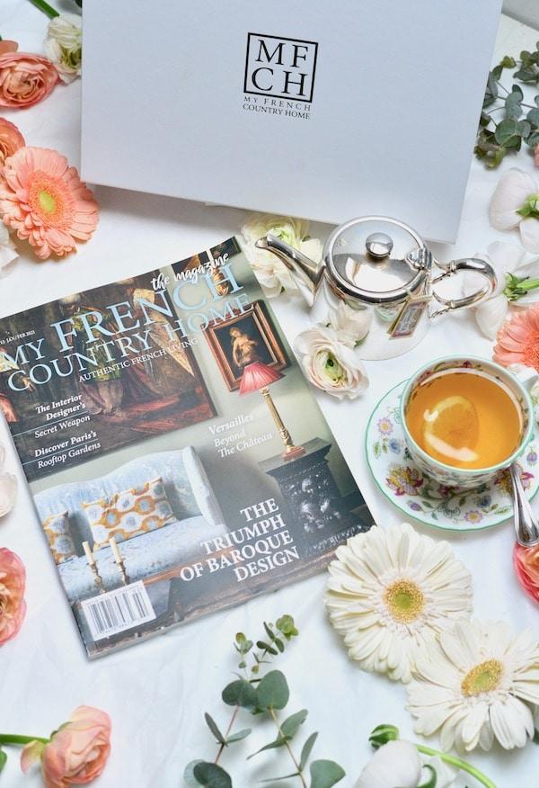 box and magazine