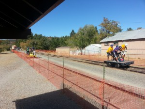 Bizz Johnson - Handcar race