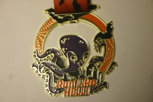 Run Like Hell - Medal