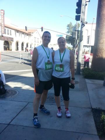 Mission Inn Run - Post race