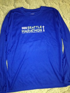 Seattle marathon - T-Shirt