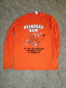 St. Helens Reindeer Run - T-Shirt