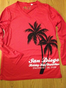 San Diego Holiday Half - T-Shirt