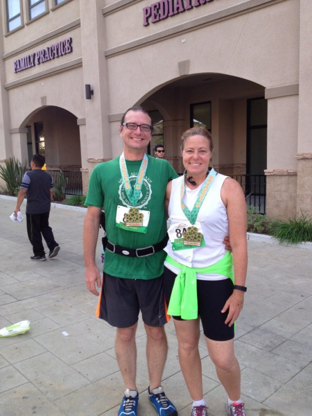 33 - St. Patricks day - post race