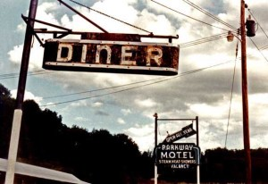 72 -Diner & telephone pole