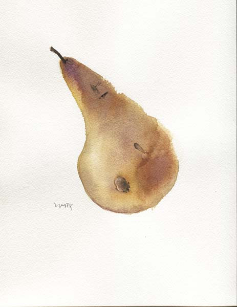 Bruised Pear 2