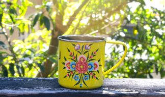 A beautiful cup. . . .