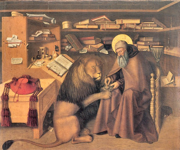 Getting Past our Writing Fears: The Real Meaning of the Story of St. Jerome and the Lion