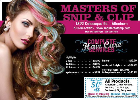 Hair Salon Ad