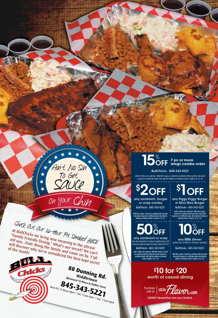 BBQ Dining Ad