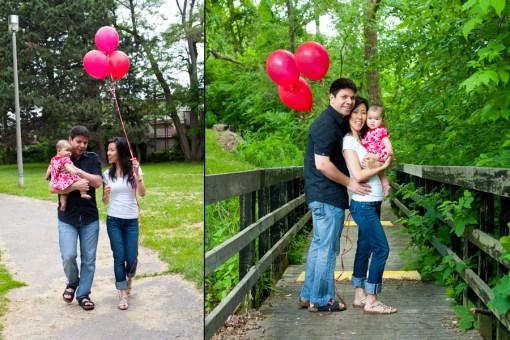 Family Portrait, High Park. Toronto Family and Wedding Photographer.