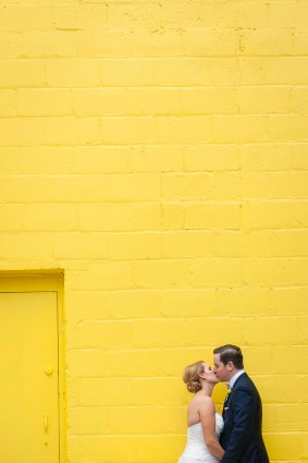 Wedding Queen Street Burroughes City Toronto Bright Colours Yellow