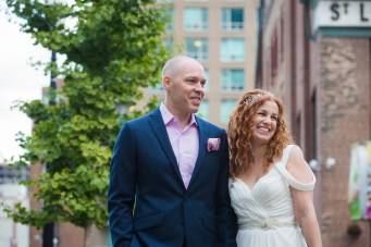 Candid - Offbeat Bride - St.Lawrence Market Wedding - Toronto Wedding Photographer