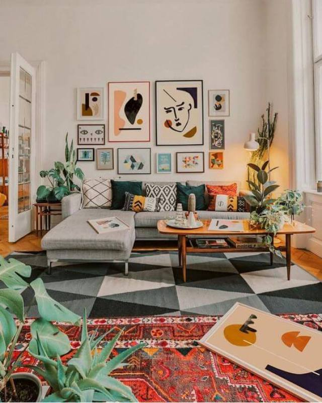 Small living room design ideas. If you're looking for some inspo to redesign your usual boring living room, then you're in the right place! Whether your style is bohemian, eclectic, modern, scandinavian, traditional, farmhouse, or contemporary we have something for you here!
