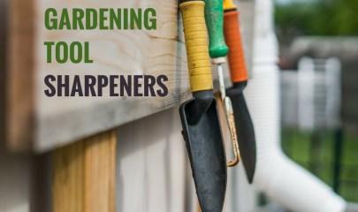 gardening tool sharpeners