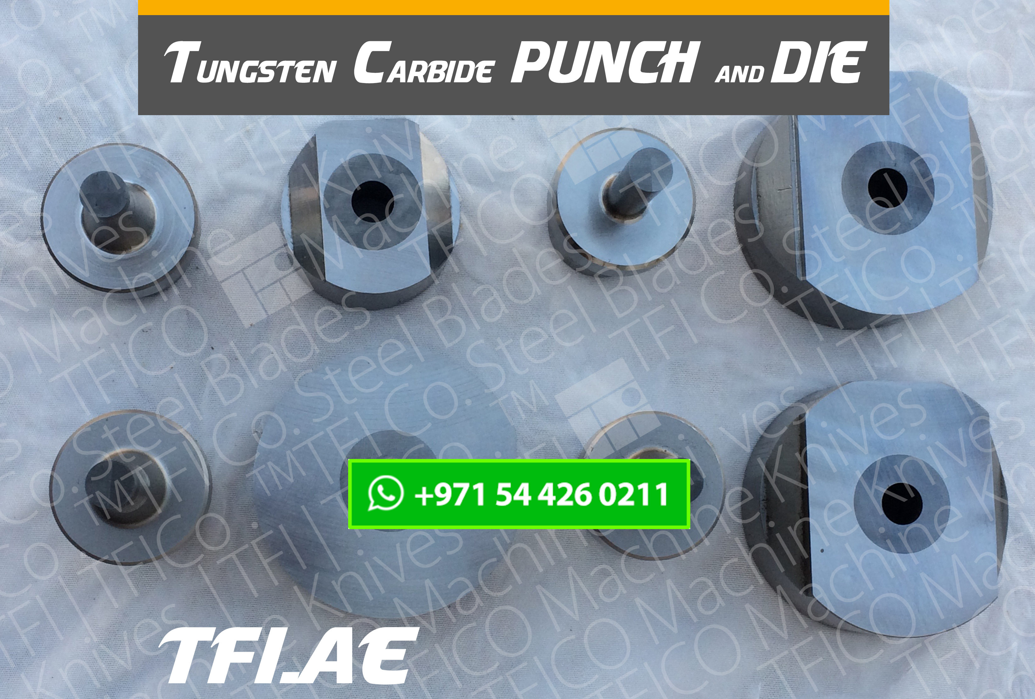 tungsten carbide, dubai, uae, abu dhabi , punch, die, ras al khaimah, transformer, ring, tfico, sharpening , grinding, machine, knives,