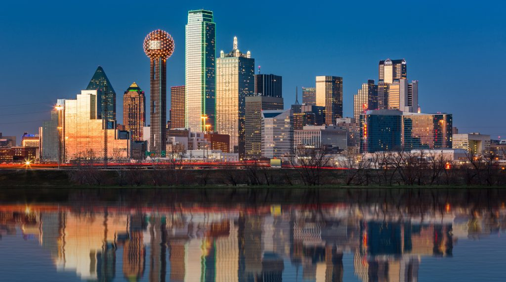 Dallas Skyline- Real Estate Photographers
